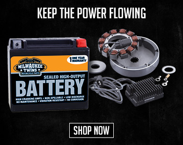 Shop Motorcycle Electrical & Batteries!