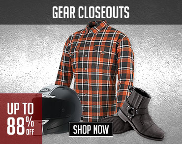 Gear Closeout, Shop Now