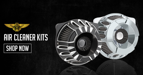 Arlen Ness Motorcycle Air Cleaner Kits