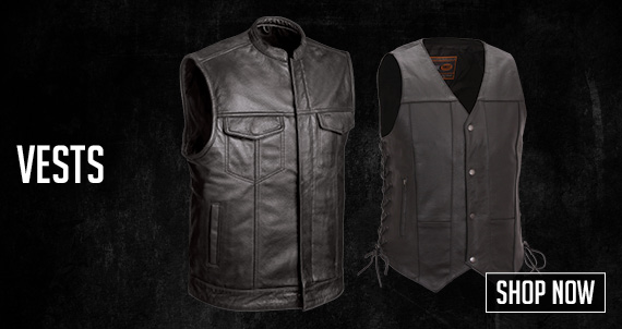 Motorcycle Vest.  Shop Now!