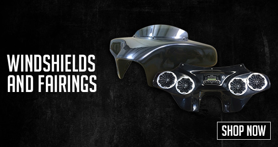Windshields and Fairings.  Shop Now!
