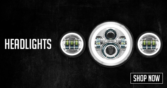 Shop Motorcycle Headlights