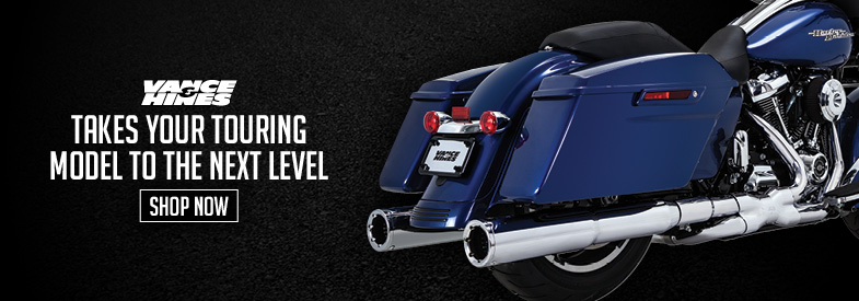 Shop Vance & Hines Harley-Davidson Touring Exhaust