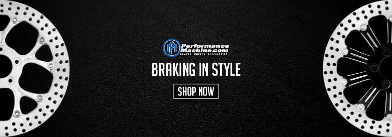 Shop Performance Machine Motorcycle Brake Rotors