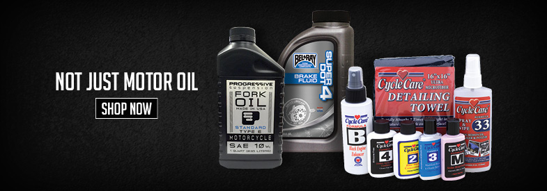 Shop Motorcycle Oils & Chemicals