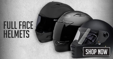 Motorcycle Full Face Helmets. Shop Now