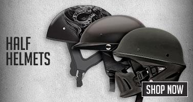 Motorcyle Half helmet