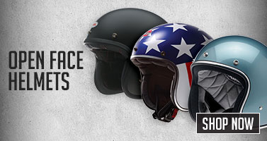 Motorcycle Open Face Helmets. Shop Now!