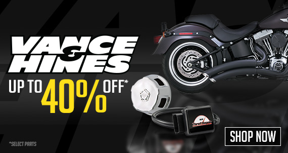 Save Up to 40% off on Vance & Hines. Shop Now!