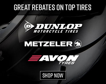 Tire Rebates from Dunlop, Metzeler & Avon