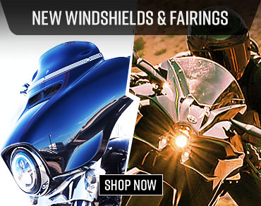 Motorcycle Windshields & Fairings