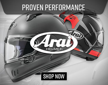 Shop Arai Motorcycle Helmets