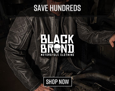 Save Hundreds with Black Brands Motorcycle Gear