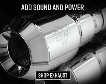 Shop Exhausts for Power and Sound