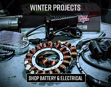 Winterize Electrical and Batteries for your Motorcycle
