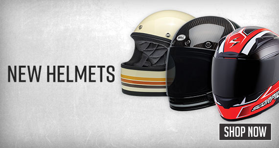 Shop New Helmets Now!