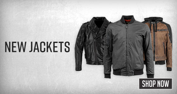Shop New Jackets Now!