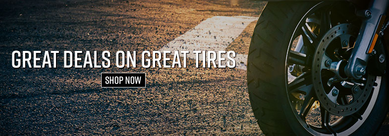 Shop Motorcycle Tires On Sale!