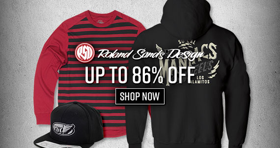 Shop Roland Sands Design Closeouts Now!