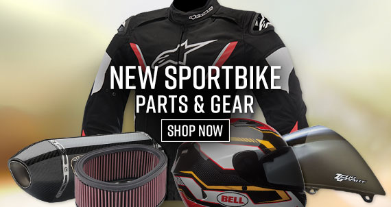 Shop New Sportbike Parts!