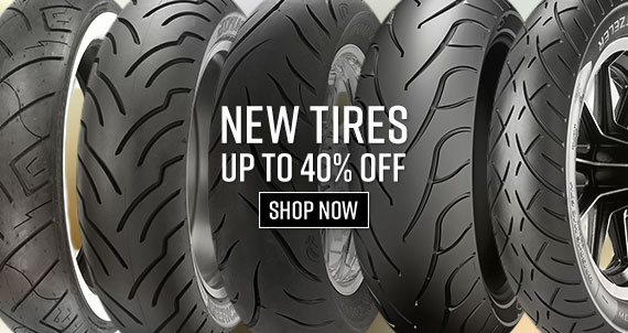 Shop New Motorcycle Tires Now!