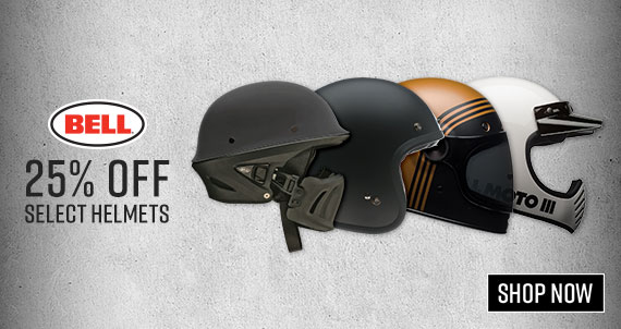 Shop Bell Motorcycle Helmets Now!