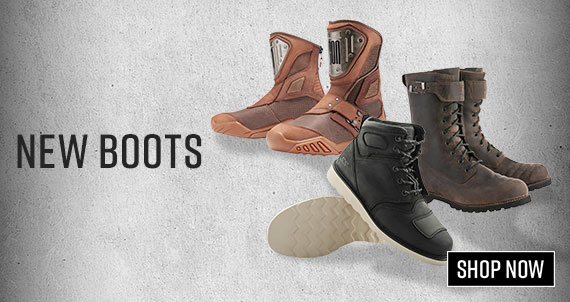 Shop New Motorcycle Boots Now!