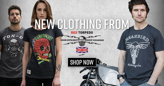 Shop New Clothing from Red Torpedo!