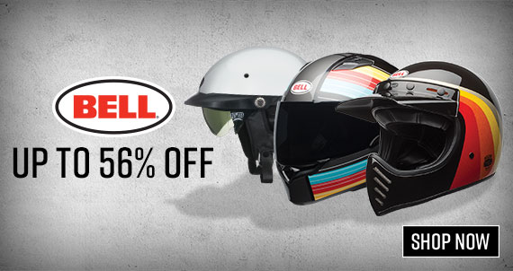 Shop Bell Motorcycle Helmets up to 56% OFF