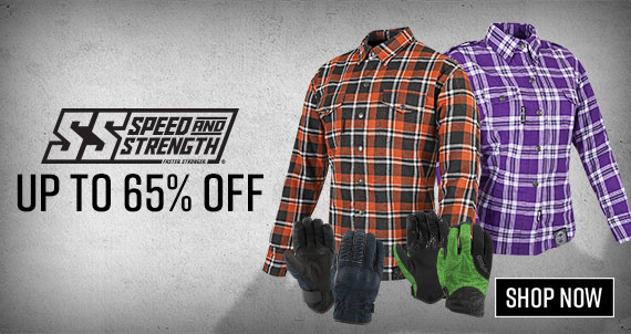 Shop Speed and Strength Motorcycle Gear Closeouts up to 65% OFF