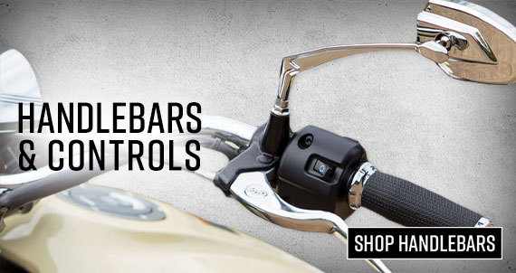 Shop Motorcycle Handlebars and Controls