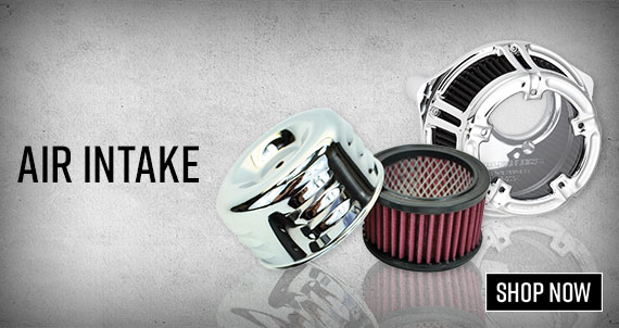 Shop Motorcycle Air Intake & Air Cleaner Kits!