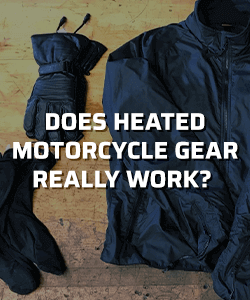 Does heated winter motorcycle gear really work?