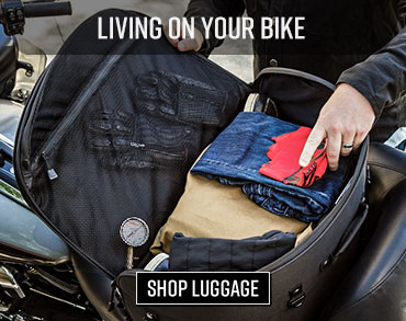 Live on your bike luggage