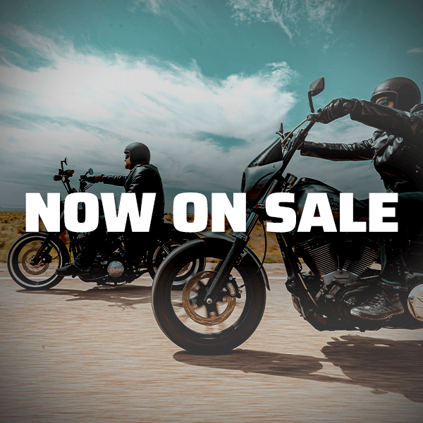 Motorcycle parts and gear on sale now