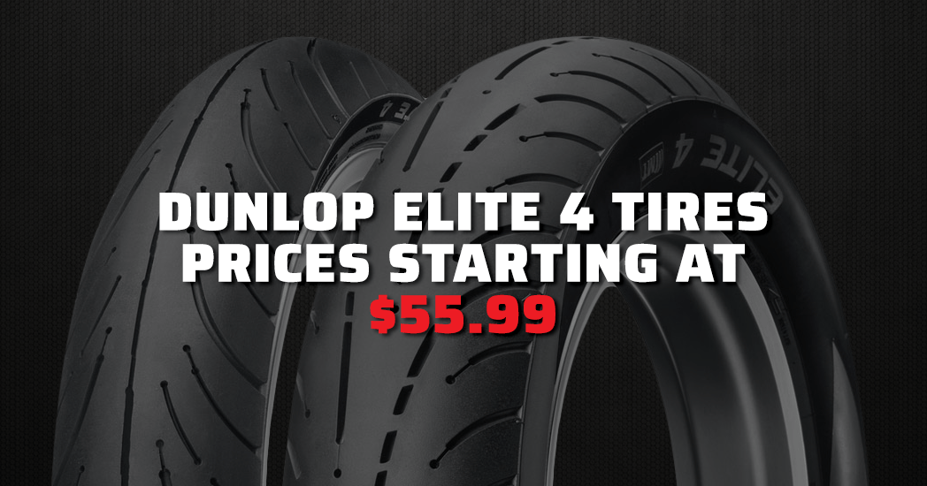 Closeouts on Dunlop Elite Tires