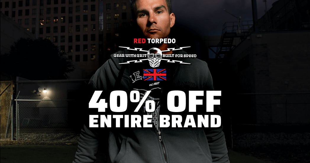 Red Torpedo: 40% Off Entire Brand