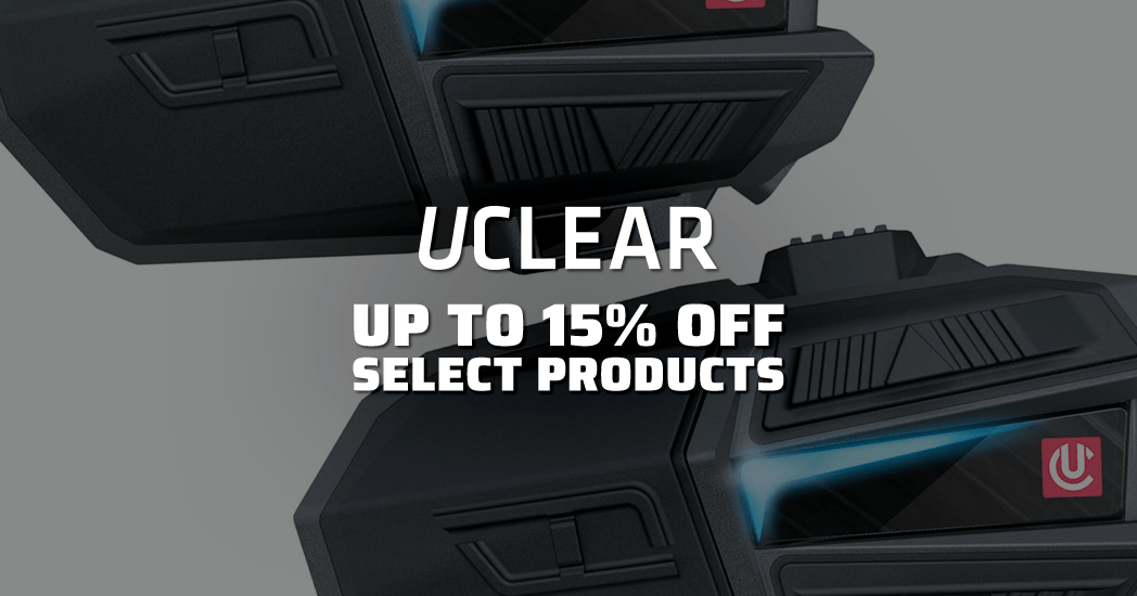 UClear: Up To 15% Select Products