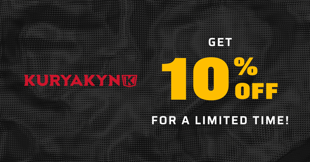 Limited Time! Save 10% on all Kuryakyn
