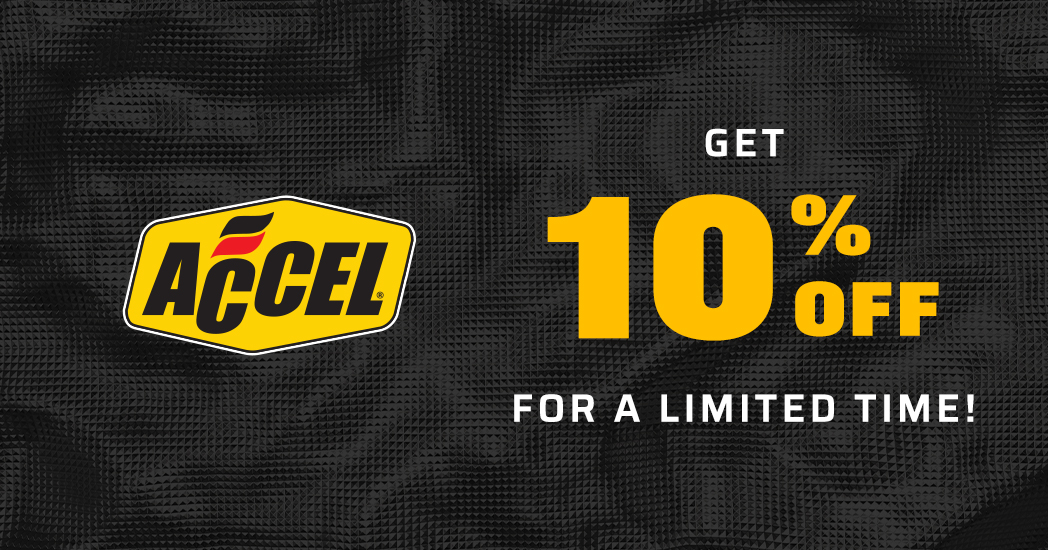 Limited Time! Save 10% on all Accel