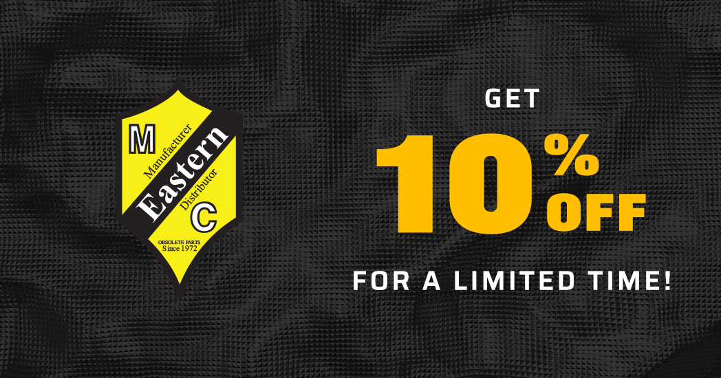 Limited Time! Save 10% on all Eastern Motorcycle Parts