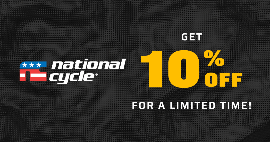 Limited Time! Save 10% on all National Cycle