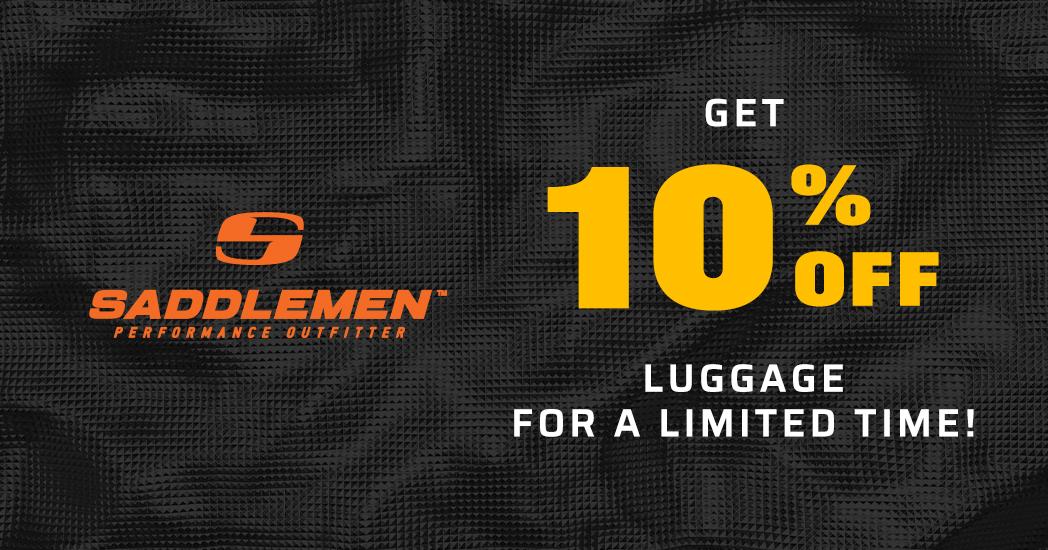 Limited Time! Save 10% on all Saddlemen