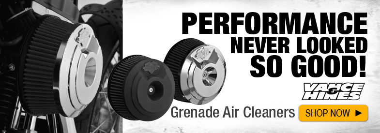 Shop Vance and Hines Grenade Air Cleaners