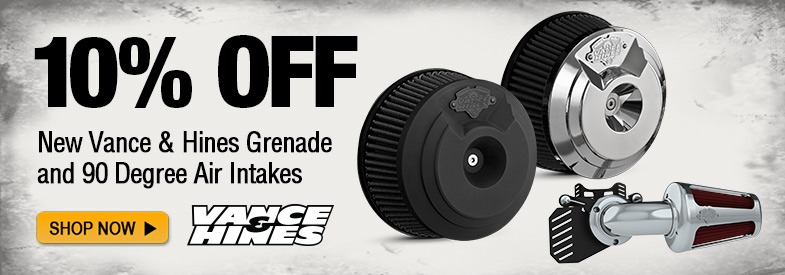 Vance & Hines Grenade Air Intakes, New and 10% off