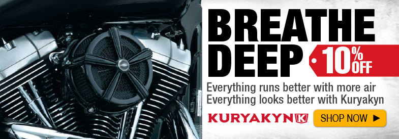 Shop Kuryakyn Air Cleaners
