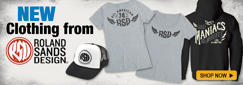 Shop New Roland Sands Design!