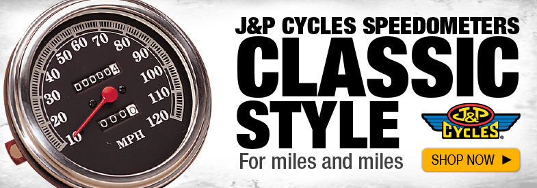 Shop J&P Speedometers