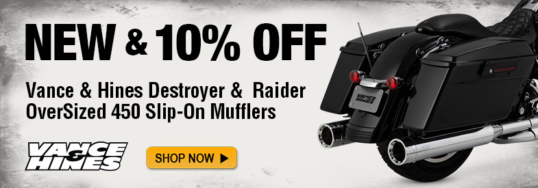 Shop Destroyer and Raider Exhaust!