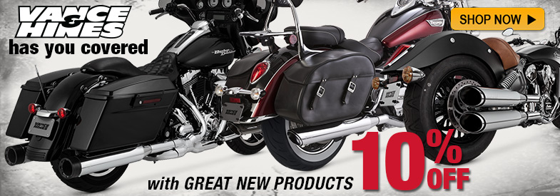 Save 10% on Vance and Hines